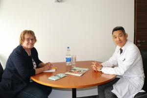 Prof. Dr. Park - Foto: Peter Hölterhoff